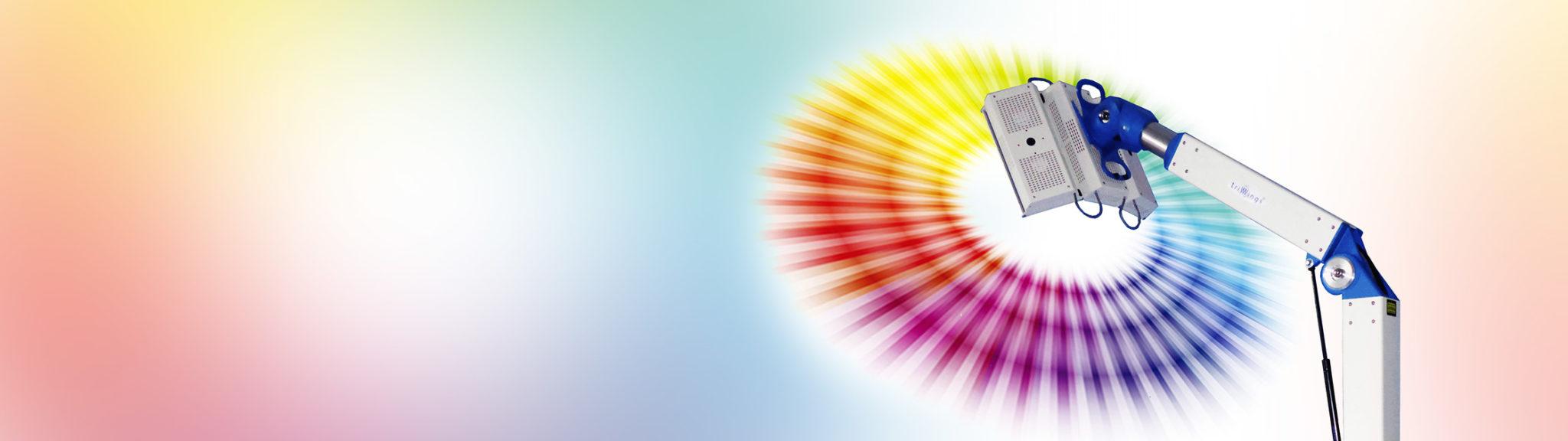Światło wykorzystywane w systemie TriWings